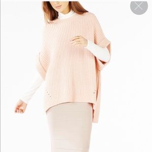 BCBGMAXAZRIA Ashtyn Poncho Knit Sweater M/L